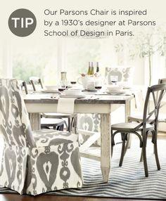 Parsons Chairs by Ballard Designs