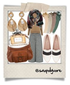 Tuesday (4/10/2016) by saopolyvore on Polyvore featuring ファッション, Warehouse, Theory, Kate Spade, Burberry, Oscar de la Renta, TravelSmith, Gucci, Christian Dior and Polaroid