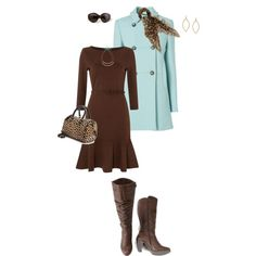 """""""REITMANS Tall Pleated Boots"""" by prettynposh2 on Polyvore"""