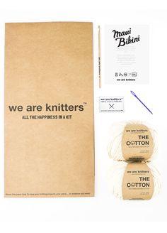 Cotton Crochet Kit Maui Bikini