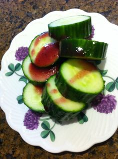 Paddy's cucumber salad by Leo #kidscooking