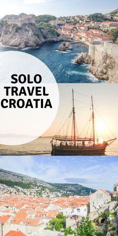 Why Croatia's Dalmatian Coast is perfect for solo travel **** Croatia   Hvar   Dubrovnik   Split   Backpacking Croatia   Solo travel Croatia   Croatia Guide   Croatia Tips