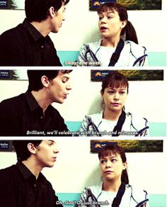 Felix's attempt at convincing alchoholic Alison to stay in rehab for a week #OrphanBlack