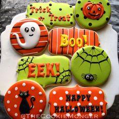 Halloween Cookies @TheCookieMonger Orders: email thecookiemonger@outlook.com