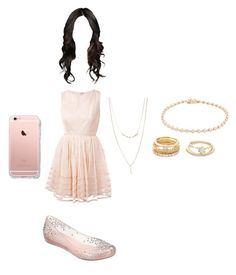 """Clothes jantar 05/01 2"" by stilys on Polyvore featuring RED Valentino, Melissa, Forever 21 and Nephora"