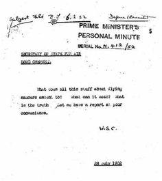 + - Documentos anteriormente secretos revelam que durante o período da grande guerra, o primeiro ministro da Grã-Bretanha pediu à uma equipe especial, denominada de Flying Saucer Working Party – para descobrir a verdade por detrás de um preocupante número de avistamentos de OVNIs. O relatório oficial explicou sobre um número de observações – as …