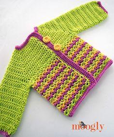 Ravelry: Loopy Love Baby Sweater pattern by Tamara Kelly