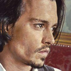 Johnny Depp - Ilustration