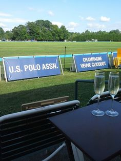 Champagne and Polo