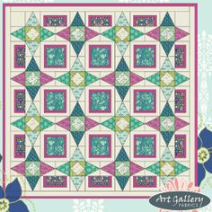 FREE PATTERN: Safari Stars Quilt (from Art Gallery Fabrics) http://www.liveartgalleryfabrics.com/freePatterns/pdfs/safari_stars_instructions.pdf