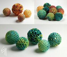https://flic.kr/p/Ph6jwn | Color Bubbles | Polymer clay 2016