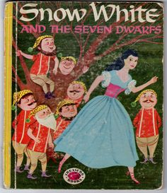 Vintage Book Snow White and the Seven Dwarfs