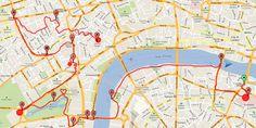 Itinerario a piedi a Londra: il Tamigi e la Londra più classica   Via che si va