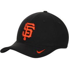 013287f30e4 San Francisco Giants Nike Heritage 86 Aero Performance Adjustable Hat -  Black