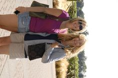 Danielle & Mom, Loving the California Sun