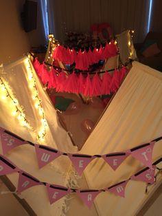 #paralosniños #diversiónconestilo #birthdayparty fiesta de niñas. Slumber party. Pijama Party. Pijamada al mejor estilo @areagourmet