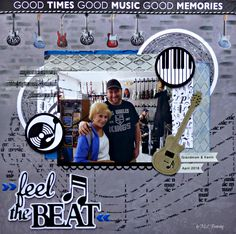 Layout: feel the BEAT