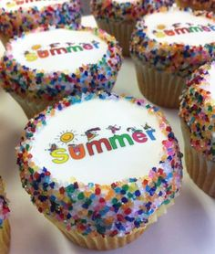 Happy Summer Cupcakes!