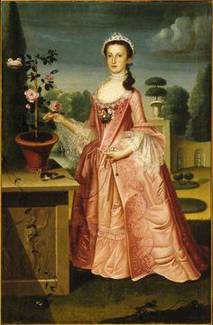 WILLIAMS, WILLIAM - Deborah Hall. (EnglishAmerican ,1727–1791).
