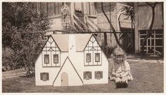 Little girls and their dollhouses.....