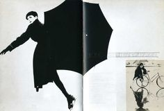 Alexey Brodovitch, Mock-up spread for Harper's Bazaar, c. 1940-1950