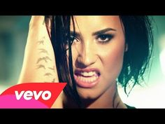 Demi Lovato - Confident (Official Video) - YouTube FUCKING AWESOME, YOU GOT HER UNDERATED!