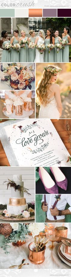 If you're looking for an autumn wedding inspiration that is on trend, unique and…