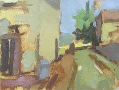Lucy MacGillis. Il Vicolo. oil on paper 2011