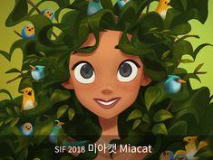 SIF 2018 참여작가 미아캣 Miacat