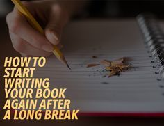 It's tough to figure out how to start writing again and return to a project you set aside. Reread what you wrote and explore your characters to start again.