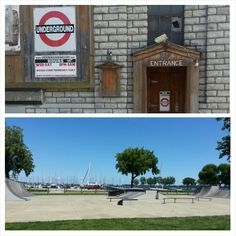 Sandusky, OH pics from a couple years ago.  #sandusky #ohio #sanduskyunderground #skatepark #waterfront