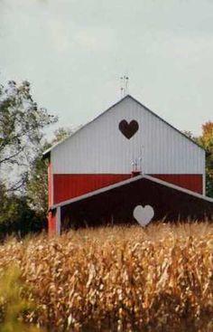 Double Hearts Barn