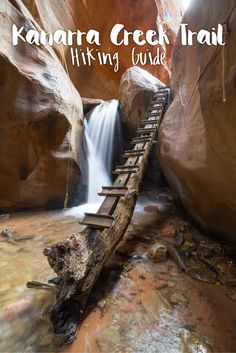 One of the most beautiful slot canyon hikes out in Utah is the Kanarra Creek trail. A must-visit when you're in the area! Here's a guide to the 4 mile out-and-back trail, which takes you through narrow canyons, and 2 beautiful waterfalls.