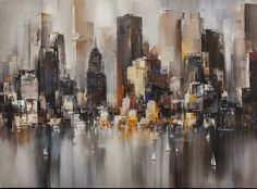 Good Morning NYC (Hand Embellished) - Breeze