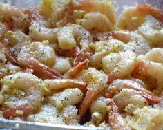 Butterflied Grilled Garlic Shrimp