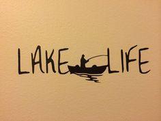 Fishermen Lake Life Decal/ Sticker,Fishing, Boating,Great Lakes, Kayak | eBay