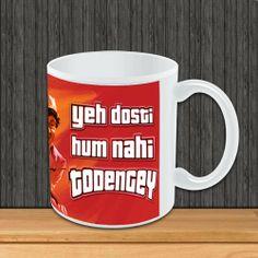 Buy Sholay 3D Mug 'Jai & Veeru -Dosti' online www.thecelebritystore.in