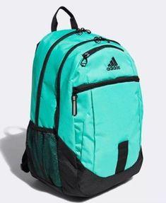 770a6f6fda5 Unisex Adidas Foundation IV Backpack 716106852107 Green Black Brand New   fashion  clothing