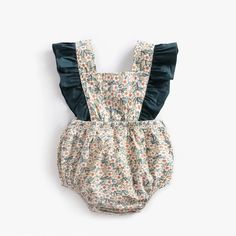 Baby Summer Bodysuit Little Flowers Newborn Clothes Ruffle Cotton Outfit Jumpsuits Kids Girls Clothes Infant Toddler Years - Baby girl fashion - Baby Clothes Hipster Babys, Baby Boy Clothes Hipster, Cute Baby Clothes, Vintage Baby Mädchen, Vintage Baby Clothes, Vintage Floral, Vintage Stuff, Baby Outfits Newborn, Baby Boy Outfits