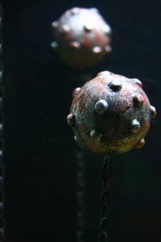 Fish Tank Decoration  Floating Aquarium Mine by SonarDesigns1, $7.00