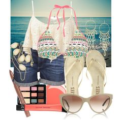 #031: Beach Style by eiluned on Polyvore