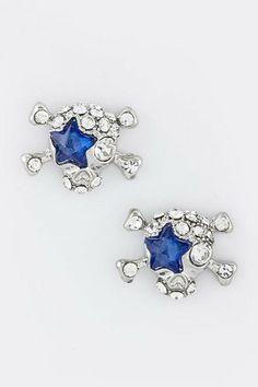 TRENDY FASHION CRYSTAL STAR SKULL EARRINGS BY FASHION DESTINATION   (Blue) Fashion Destination,http://www.amazon.com/dp/B00EV4B17W/ref=cm_sw_r_pi_dp_VSbLsb1RGF74R03B