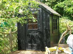Potting Shed by Posh Shed Co., Gardenista
