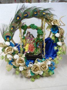 Marriage Decoration, Wedding Stage Decorations, Diwali Decorations, Festival Decorations, Arti Thali Decoration, Mandir Decoration, Basket Decoration, Diy Deodorant, Cradle Ceremony
