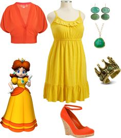 """""""Business Casual Princess Daisy"""" by storyowl on Polyvore"""