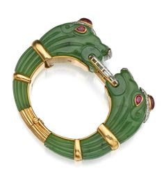 Buy online, view images and see past prices for NEPHRITE, RUBY AND DIAMOND 'CHIMERA' BRACELET, DAVID WEBB. Invaluable is the world's largest marketplace for art, antiques, and collectibles.