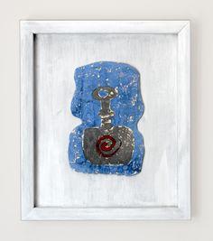 """Magna Mater"" Serial - Ceramic Tablet by Efe Turkel"