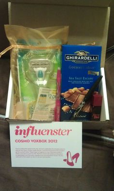 2012 Cosmo Voxbox - Got one of these!  I love this site!