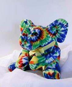 Ty the Elephant Plush Animal Animal Toy Stuffed by sallyressler, $25.00
