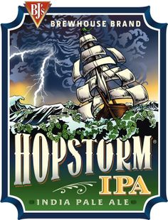 Six different hop varieties contribute to the complex hop character of this beer. Profoundly hoppy with balanced bitterness, this is a classic American-style IPA.